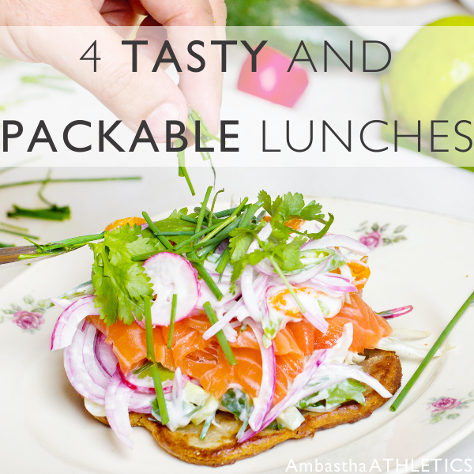 4 Tasty And Packable Lunches